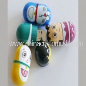 Cartoon Round USB Flash Drive images