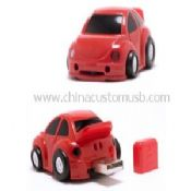 Plastic car USB Flash Drive images