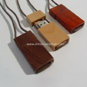 Lanyard Wooden USB Flash Drive images