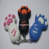 Keyring silicone usb flash Drive images