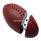 Silicone American Football shape USB Disk images
