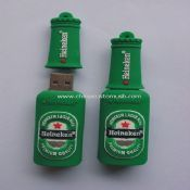 Silicone beer shape USB Flash Drive images
