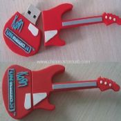 Silicone guitar shape USB Flash Drive images