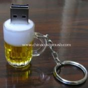 Cool Beer Cup Keychain USB Disk images