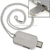 Army dog tag shape stainless stell usb flash drive images