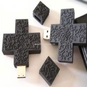 PVC Cross shape USB flash disk images