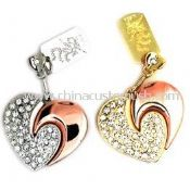Jewelry Heart USB drive images