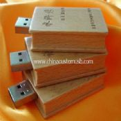 Wooden Engraved USB Flash Drive images