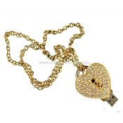 Love lock necklace usb drive images