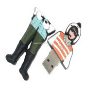 Traffic Police Shape USB Flash Drive images