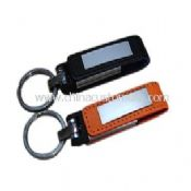 Leather USB Drive with metal nameplate images