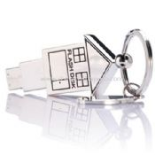 key ring house metal USB disk images