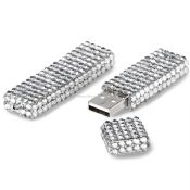 Bling bling usb disk with Czech Stones images