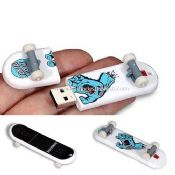 PVC skateboard usb flash disk images