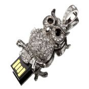 Owl Shape Jewelry USB Flash Drive images