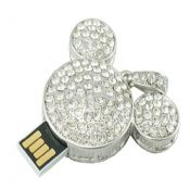 Mickey Mouse Shape Jewelry USB Flash Drive images