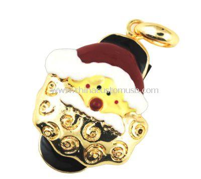 Santa Claus Shape Diamond USB 2.0 Memory Stick