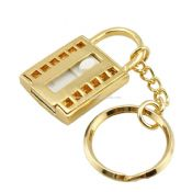Lock Shape Jewelry USB Flash Drive With Keyring images