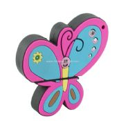 PVC Butterfly Shape USB Flash Drive images
