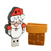 Customized Santa Claus USB Flash Drive images