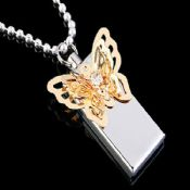 Metal Butterfly USB Flash Disk images