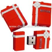 Silicone gift box shape USB Disk images