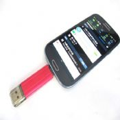 OTG USB Flash Drive Pen Drive for Smart Phone Data Transfer between Smartphone and PC images