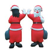 Rubber Christmas USB Drive images