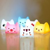 USB Cartoon LED Press Lamp images