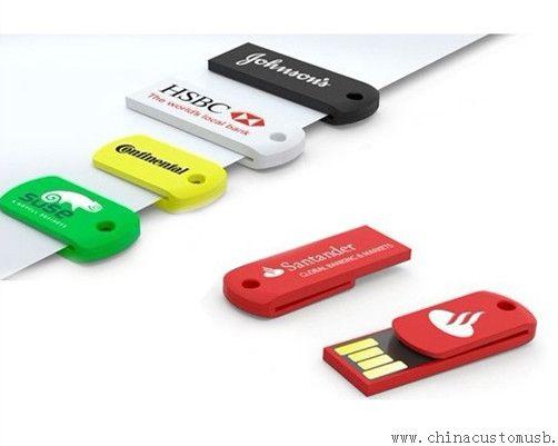 8gb mini paper clip usb thumb drive