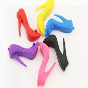 Colorful high heel shoe shape USB Flash Drive for lady images