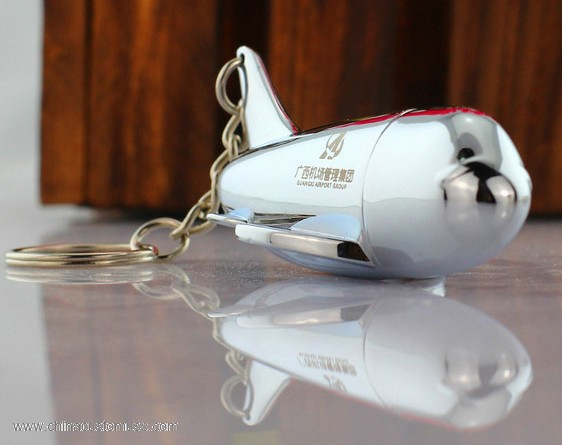 Metal Airplane USB Drive 3
